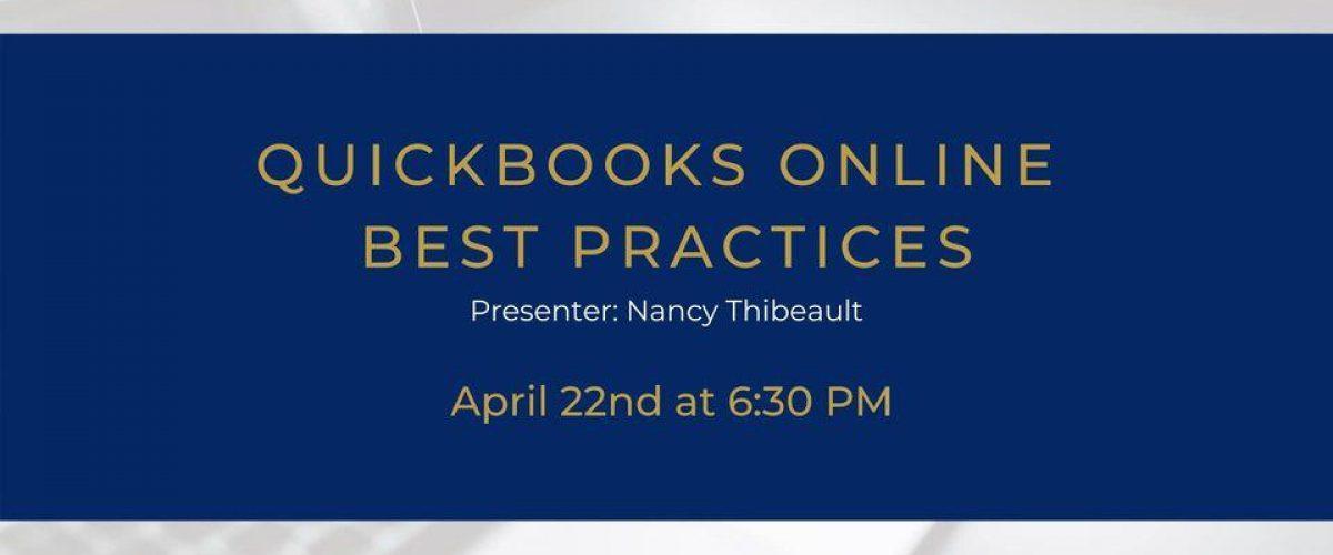 QuickBooks Online-Best Practices