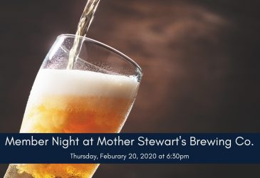 Member Night at Mother Stewart's Brewing Co.
