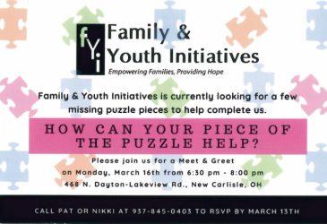 Family & Youth Initiatives Meet & Greet